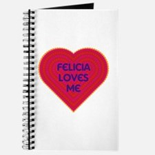 Felicia Loves Me Journal
