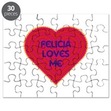 Felicia Loves Me Puzzle