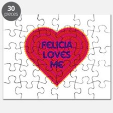 Felicia Loves Me Puzzle