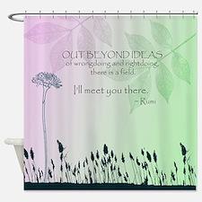 Zen Out Beyond Ideas Shower Curtain