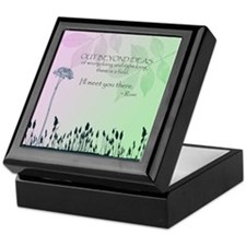 Zen Out Beyond Ideas Keepsake Box