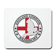 England London LDS Mission Flag Cutout Map 1 Mouse