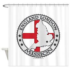 England London LDS Mission Flag Cutout Map 1 Showe
