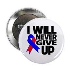"I Will Never Give UP CHD 2.25"" Button (10 pack)"