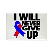 I Will Never Give UP CHD Rectangle Magnet