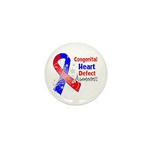Congenital Heart Defect Awareness Mini Button (10