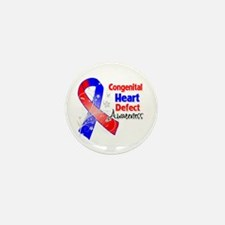 Congenital Heart Defect Awareness Mini Button (10