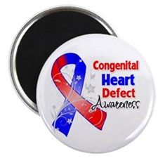 "Congenital Heart Defect Awareness 2.25"" Magnet (10"