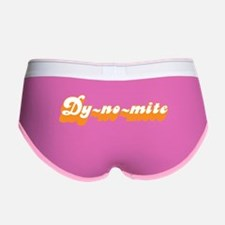 Dy-no-mite Women's Boy Brief