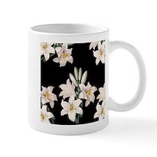 Black and White Lilies Mug