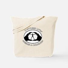 D-STRESS LIFE BLK TRIM Tote Bag