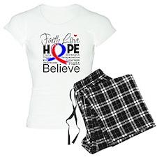 Faith Congenital Heart Defect Pajamas