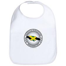 Jamaica Kingston LDS Mission Flag Cutout 1 Bib