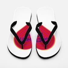 Gretchen Loves Me Flip Flops
