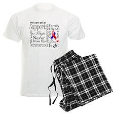 Collage CHD Awareness Pajamas