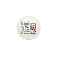 Collage CHD Awareness Mini Button (10 pack)
