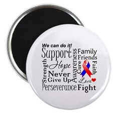 "Collage CHD Awareness 2.25"" Magnet (10 pack)"
