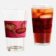 Jelly Around Drinking Glass