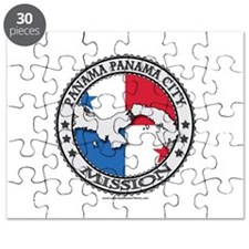 Panama Panama City LDS Mission Flag Cutout Map 1 P