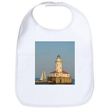 Chicago Harbor Lighthouse Bib