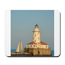 Chicago Harbor Lighthouse Mousepad