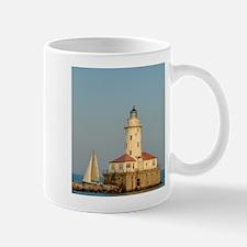Chicago Harbor Lighthouse Mug