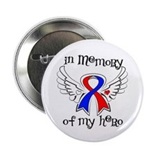 "In Memory of My Hero CHD 2.25"" Button (10 pack)"