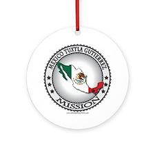Mexico Tuxtla Gutierrez LDS Mission Flag Cutout 1