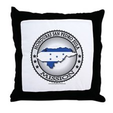 Honduras San Pedro Sula LDS Mission 1 Throw Pillow