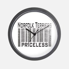 Norfolk Terriers Wall Clock