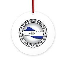El Salvador San Salvador LDS Mission Flag Cutout O
