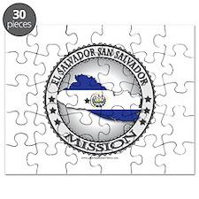 El Salvador San Salvador LDS Mission Flag Cutout P
