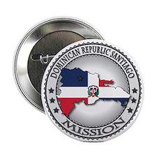 """Dominican Republic Santiago LDS Mission Flag 2.25"""""""