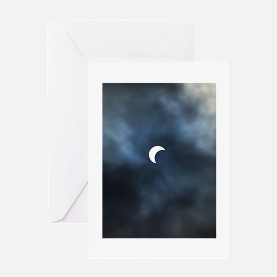 Solar Eclipse - May 20, 2012 Greeting Card
