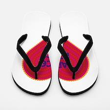 Janice Loves Me Flip Flops