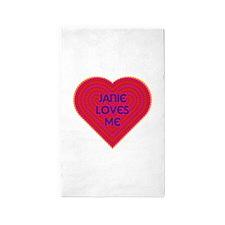Janie Loves Me 3'x5' Area Rug