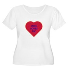 Janie Loves Me Plus Size T-Shirt