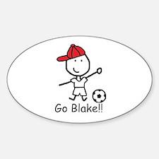 Soccer - Blake Oval Decal