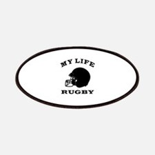My Life Rugby Patches