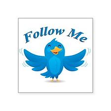 Twitte me on the street Sticker