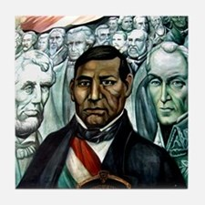 Benito Juarez Mexico Leader Art Tile Coaster