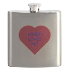 Karen Loves Me Flask