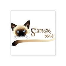 Siamese LOVE Sticker