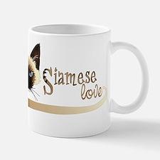 Siamese LOVE Taza
