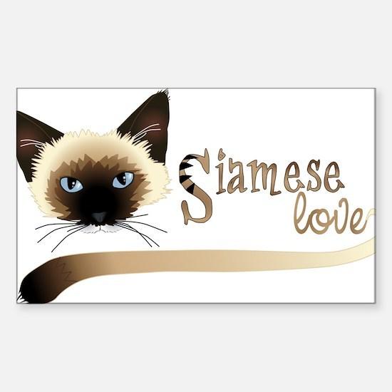 Siamese LOVE Decal