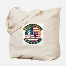 Patriot Riders NE Tote Bag