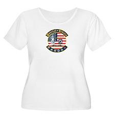Patriot Riders NE Plus Size T-Shirt