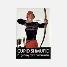Cupid Shmupid Rectangle Magnet