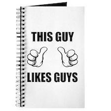 This Guy Likes Guys Journal