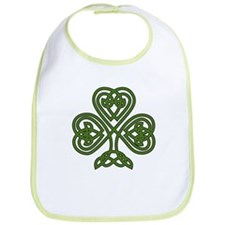 Celtic Shamrock - St Patricks Day Bib